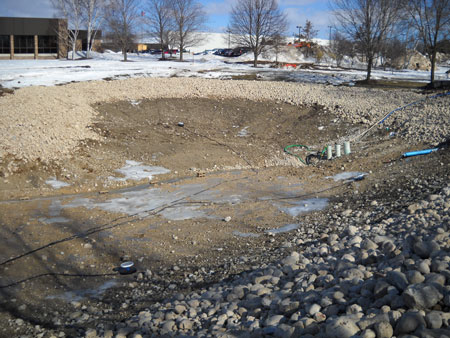 Industrial 1 Acre Cooling And Retention Pond Wisconsin