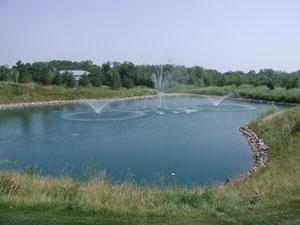 pond fountains