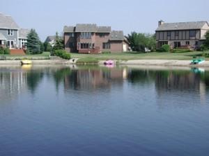 Subdivision Pond