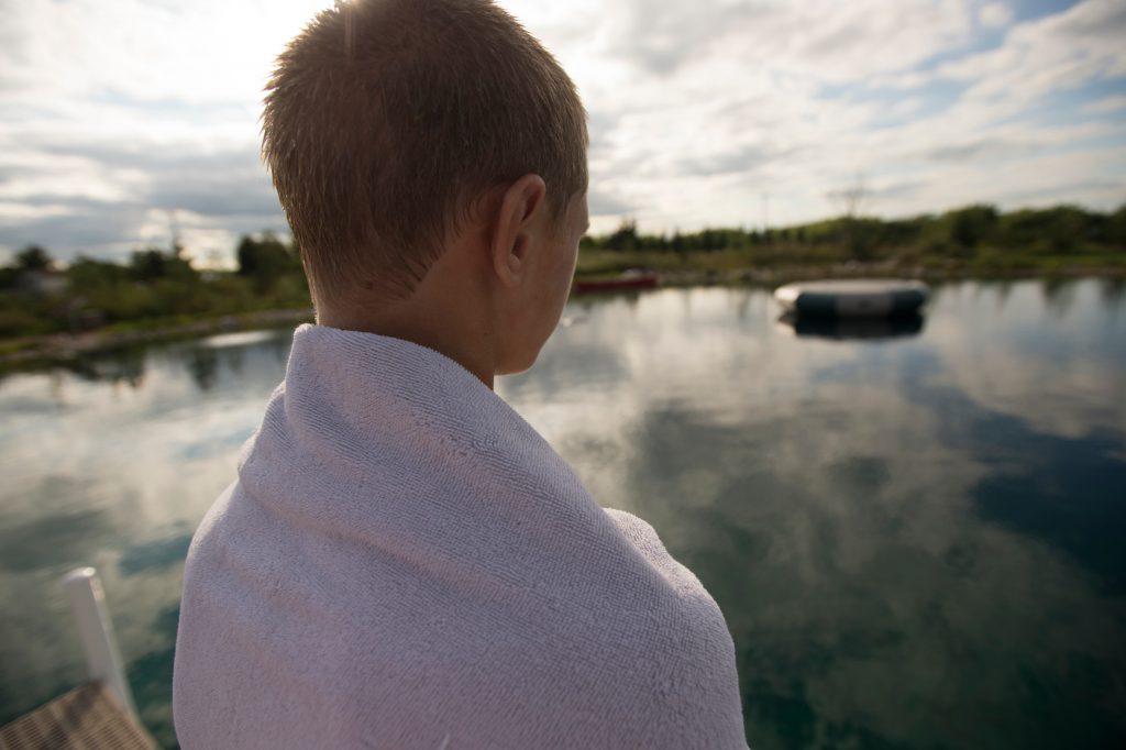 swim pond