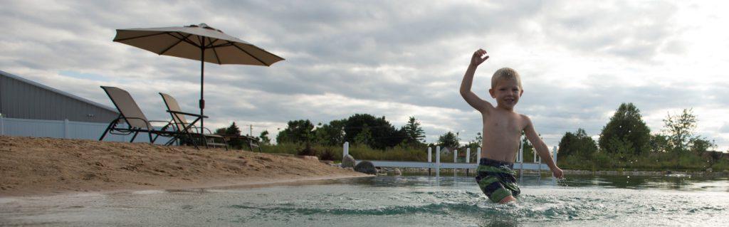 Swim Pond Fun