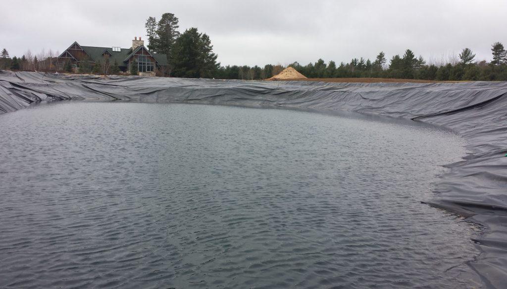 filling new pond